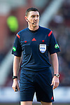 Hearts v St Johnstone…19.03.16  Tynecastle, Edinburgh<br />Referee Craig Thomson<br />Picture by Graeme Hart.<br />Copyright Perthshire Picture Agency<br />Tel: 01738 623350  Mobile: 07990 594431
