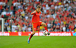 EURO 2016 QUALIFYING: WALES V ISRAEL AT CARDIFF CITY STADIUM : <br /> Aaron Ramsey of Wales.<br /> <br /> EDITORIAL USE ONLY.