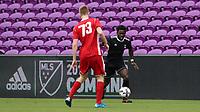 Orlando, Florida - Saturday January 13, 2018: Ema Twumasi. Match Day 1 of the 2018 adidas MLS Player Combine was held Orlando City Stadium.
