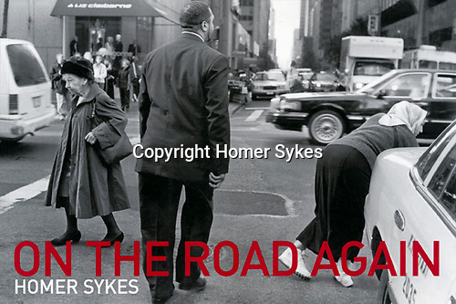On the Road Again. Published by Mansion Editions...I have a few new copies left.<br /> Images taken in 1969, 1971, 1999, and 2001. Across the USA by Greyhound Bus. <br /> £23.00 including p&p in the UK.<br /> Ask for $ price.
