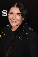 """NEW YORK, NY - FEBRUARY 04: Marina Abramovic at the New York Premiere Of Columbia Pictures' """"The Monuments Men"""" held at Ziegfeld Theater on February 4, 2014 in New York City, New York. (Photo by Jeffery Duran/Celebrity Monitor)"""