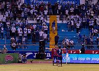 SAN PEDRO SULA, HONDURAS - SEPTEMBER 8: Sebastian Lletget #17 of the United States celebrates his goal during a game between Honduras and USMNT at Estadio Olímpico Metropolitano on September 8, 2021 in San Pedro Sula, Honduras.