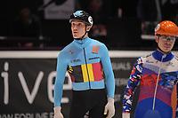 SPEEDSKATING: DORDRECHT: 06-03-2021, ISU World Short Track Speedskating Championships, Stein Desmet (Bel), ©photo Martin de Jong