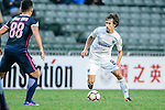 Auckland City Midfielder Albert Riera (R) in action during the Nike Lunar New Year Cup 2017 match between SC Kitchee (HKG) and Auckland City FC (NZL) on January 31, 2017 in Hong Kong, Hong Kong. Photo by Marcio Rodrigo Machado / Power Sport Images