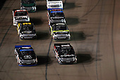 NASCAR Camping World Truck Series <br /> Lucas Oil 150<br /> Phoenix Raceway, Avondale, AZ USA<br /> Friday 10 November 2017<br /> Christopher Bell, JBL Toyota Tundra, Noah Gragson, Switch Toyota Tundra, restart<br /> World Copyright: Michael L. Levitt<br /> LAT Images