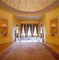 A grand, spacious landing-hall leads into the upstairs sitting rooms