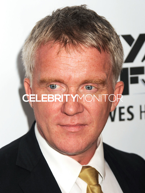 NEW YORK CITY, NY, USA - OCTOBER 10: Anthony Michael Hall arrives at the 52nd New York Film Festival - 'Foxcatcher' Premiere held at Alice Tully Hall on October 10, 2014 in New York City, New York, United States. (Photo by Celebrity Monitor)