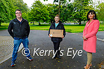Lisa Curran from Tralee, who won a new laptop from a competition from Johnston Technology and Career Ahead been presented by Alan Johnston of Johnston Technology and was run by Mary Lucey of Career Ahead. L to r: Alan Johnston, Lisa Curran and Mary Lucey.