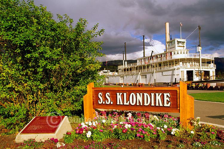 Whitehorse, YT, Yukon Territory, Canada - SS Klondike Historic Sternwheeler,  S.S. Klondike National Historic Site