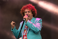 Leo Sayer performing during Rewind South, The 80s Festival, at Temple Island Meadows, Henley-on-Thames, England on 20 August 2016. Photo by David Horn.