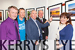 The Killarney Camera Club committee show Weeshie Fogarty their photo exhibition at the launch in Killarney Library on Thursday evening Tadhg Kelleher Chairman, Nicky Foley Secretary, Sean Brennan Treasurer and Terry McSweeney