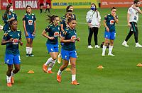 São Paulo (SP), 27/11/2020 - Brasil-Equador - Brasil e Equador em amistoso internacional, a partida realizada na Neo Química Arena em São Paulo, nesta sexta-feira (27), marca o retorno da Seleção Brasileira Feminina após oito meses sem jogos internacionais.