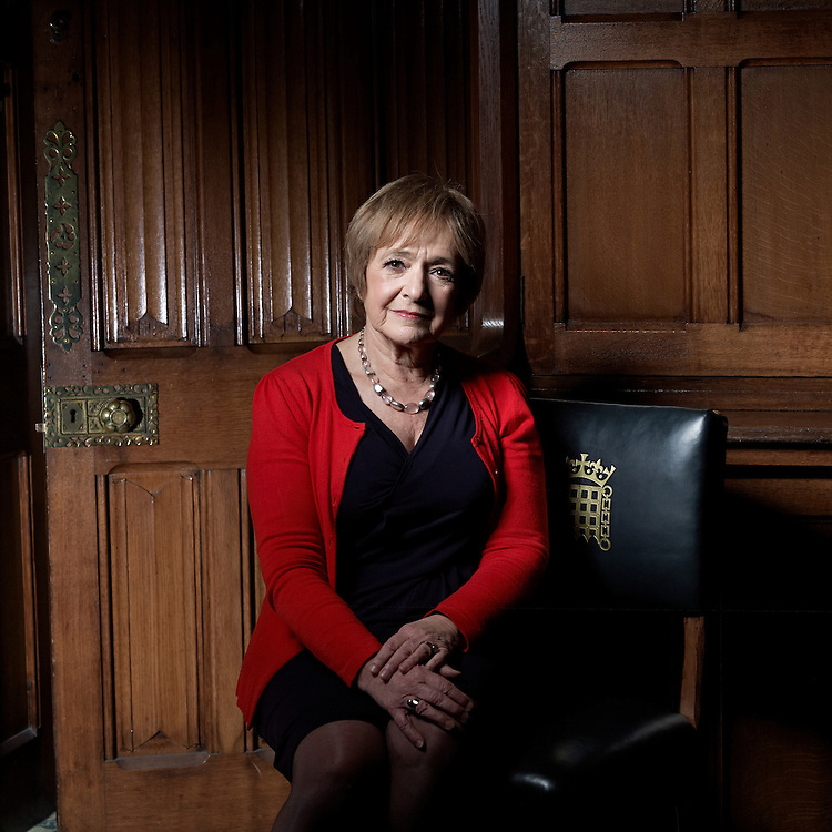 © John Angerson.Margaret Hodge MBE MP (née Oppenheimer; born 8 September 1944), formally styled The Rt Hon Lady Hodge MBE MP by virtue of her appointment to the Privy Council and her late husband's knighthood, is a British Labour politician, who has been the Member of Parliament for Barking since 1994. She was the first Minister for Children in 2003 and was Minister of State for Culture and Tourism at the Department for Culture, Media and Sport. On 9 June 2010 she was elected Chair of the Public Accounts Committee.