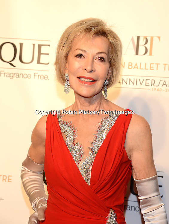 Anka attends the Opening Night of American Ballet Theatre 2014 Fall Gala on October 22,2014 at the David Koch Theater at Lincoln Center in New York City. <br /> <br /> photo by Robin Platzer/Twin Images<br />  <br /> phone number 212-935-0770