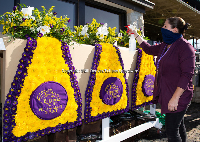November 7, 2020: Scenes from Breeders' Cup World Championship Saturday at Keeneland Race Course on November 7, 2020: in Lexington, Kentucky. Bill Denver/Breeders' Cup/Eclipse Sportswire/CSM