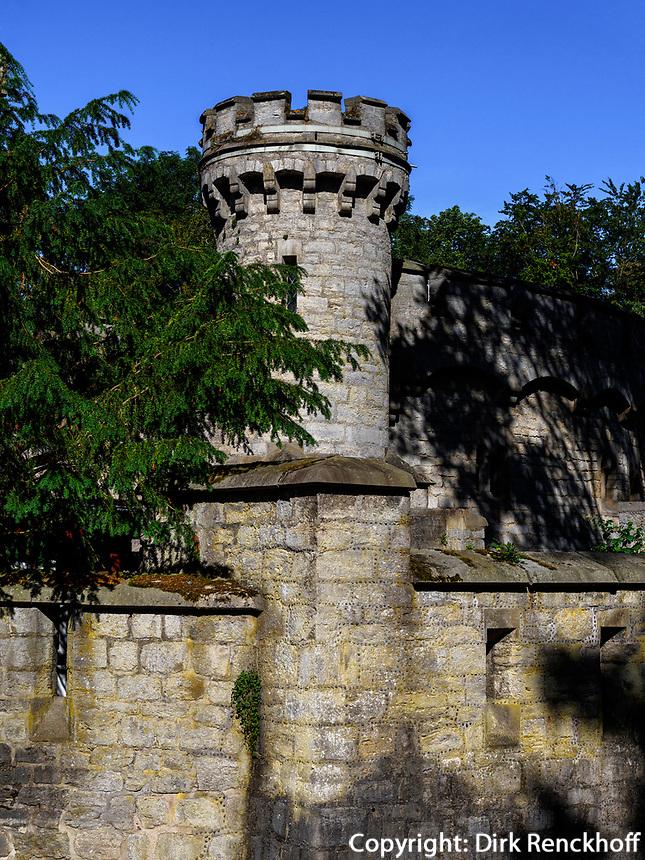 Welfen  - Schloss Marienburg bei Pattensen, Niedersachsen, Deutschland, Europa<br /> Castle of the Welfs near Pattensen , Lower Saxony, Germany, Europe
