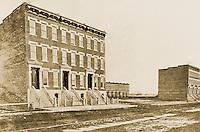 New York History:  Harlem, W. 133rd St., 1880-81.  Black's OLD NEW YORK, p. 211.  Photo '77.