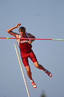 4 May 2008: Stanford Cardinal Josh Hustedt during Stanford's Payton Jordan Cardinal Invitational at Cobb Track & Angell Field in Stanford, CA.
