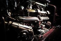 f/2.8 1/90 sec ISO 400 @ 16mm<br /> Canon EOS 5D Mark II<br /> Canon 16-35mm f/2.8L<br /> w/ remote flash<br /> <br /> 1934 Alfa Romeo 8C 2300 Spider