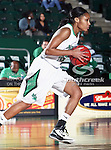 North Texas Mean Green guard Tamara Torru (34) in action during the NCAA Women's basketball game between the Arkansas State Red Wolves and the University of North Texas Mean Green at the North Texas Coliseum,the Super Pit, in Denton, Texas. Arkansas State defeated UNT 62 to 59