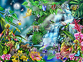Lori, REALISTIC ANIMALS, REALISTISCHE TIERE, ANIMALES REALISTICOS, zeich, paintings+++++After Midnight_27.5X20.5_Sunsout_2015_10in_72,USLS115,#a#, EVERYDAY ,puzzle,puzzles