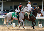 June 26,, 2021: #5 Silver Dust in the Stephen Foster Grade 2  at Churchill Downs.  Louisville, KY on June 26, 2021.  Candice Chavez/ESW/CSM