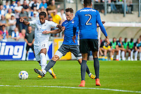 Wayne Routledge of Swansea City  in action during the Pre Season friendly match between Swansea City and Rovers played at the Memorial Stadium, Bristol on July 23rd 2016