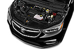 Car Stock 2018 Buick Encore Premium 5 Door SUV Engine  high angle detail view