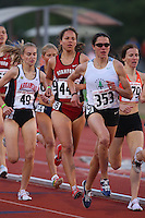 4 May 2008: Stanford Cardinal Lauren Centrowitz during Stanford's Payton Jordan Cardinal Invitational at Cobb Track & Angell Field in Stanford, CA.