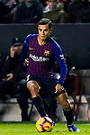 Philippe Coutinho of FC Barcelona in action during the La Liga 2018-19 match between Rayo Vallecano and FC Barcelona at Estadio de Vallecas, on November 03 2018 in Madrid, Spain. Photo by Diego Gouto / Power Sport Images