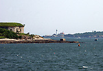 Fort Scammon, House Island and Portland Head Light