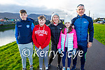Tomas, Rory, Catriona, Meabh and Tommy Kennedy enjoying a stroll in Blennerville on New Years Eve.