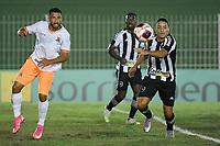 Saquarema (RJ), 28/03/2021 - Nova Iguaçu-Botafogo - Jogador do Botafogo,durante partida contra o Nova Iguaçu,válida pela 6ª rodada da Taça Guanabara,realizada no Estádio Elccyr Resende,distrito de Bacaxá,Saquarema (RJ),neste domingo (28).