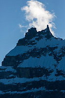 Mount Igikpak is the highest peak in the Schwatka Mountains region of the Brooks Range, Gates of the Arctic National Park, Alaska