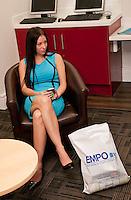 Tina Clough of Poppy PR takes a break