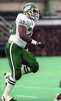 Gary Lewis Saskatchewan Roughriders 1991. Photo F. Scott Grant