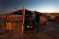 Desert Fishing Village. Baja California Sur, Mexico