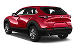 Car pictures of rear three quarter view of a 2020 Mazda CX 30 Skydrive-Lux 5 Door SUV angular rear