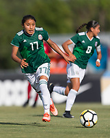 Bradenton, FL - Sunday, June 12, 2018: Natalia Mauleon during a U-17 Women's Championship Finals match between USA and Mexico at IMG Academy.  USA defeated Mexico 3-2 to win the championship.