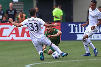 Portland, Oregon - Saturday, May 19, 2018: Portland Timbers defeated Los Angeles FC 2-1 in a match at Providence Park.