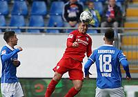 Danilo Soares (VfL Bochum) klärt - 07.03.2020: SV Darmstadt 98 vs. VfL Bochum, Stadion am Boellenfalltor, 2. Bundesliga<br /> <br /> DISCLAIMER: <br /> DFL regulations prohibit any use of photographs as image sequences and/or quasi-video.
