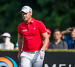 Danny Willett of England reacts to hist last shot during the 58th UBS Hong Kong Golf Open as part of the European Tour on 11 December 2016, at the Hong Kong Golf Club, Fanling, Hong Kong, China. Photo by Marcio Rodrigo Machado / Power Sport Images