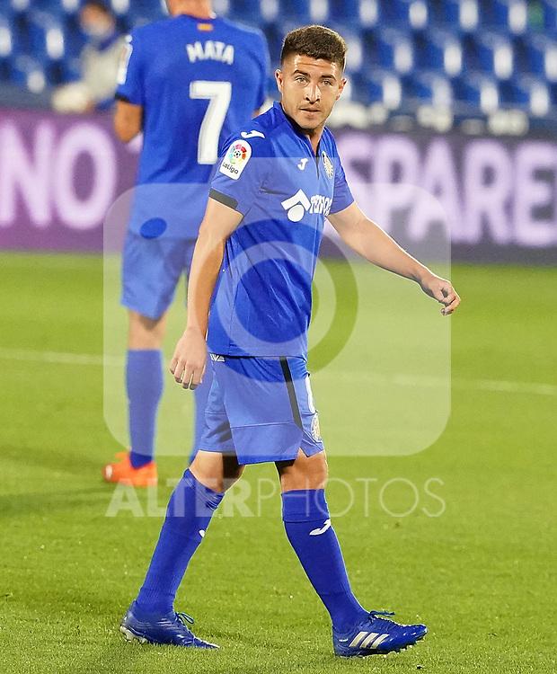 Getafe CF's Francisco Portillo during La Liga match. September 29,2020. (ALTERPHOTOS/Acero)