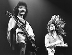 Black Sabbath 1978 Tony Iommi and Ozzy Osbourne.© Chris Walter.