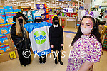 The staff in Tesco's in Manor West Shopping Centre doing a fundraiser on Saturday, for Temple Street Hospital for a CT Scanner.<br /> Front right: Lauren Quinn. Back l to r: Denise Pickers, Nicole Nabarca and Joan Walsh.