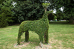 Deer topiary at Green Animals Topiary in Portsmouth, Rhode Island