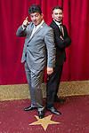 © Licensed to London News Pictures . 16/05/2015 .  The Palace Hotel , Manchester , UK . John Altman and Ricky Norwood . The red carpet at the 2015 British Soap Awards , The Palace Hotel , Oxford Road , Manchester . Photo credit : Joel Goodman/LNP