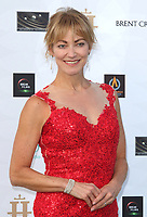 Terri Dwyer at the first ever UK Drive-In Film Premiere of 'Break' at Brent Cross in London. This is the first Red Carpet event in the UK since the Covid-19 Pandemic lockdown. The film will be rolled out nationwide in other drive-in venues. Brent Cross, London 22nd July 2020<br /> CAP/ROS<br /> ©ROS/Capital Pictures