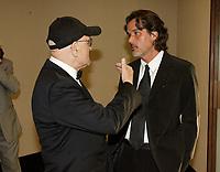 Christophe Baratier, Serge Losique, during the 2008  World Film Festival.<br /> <br />  File Photo Agence Quebec Presse - Pierre Roussel