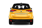 Straight rear view of 2017 Renault Scenic Intens 5 Door Minivan Rear View  stock images
